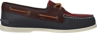 Sperry Top-Sider Sperry Mens A/O 2-Eye Boat Shoe, Brown Multi, 11.5 UK