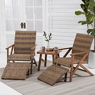 Better Homes & Gardens Better Homes & Gardens Fayette 5-Piece Patio Wicker Chat Set