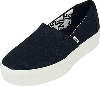 Toms Black Heritage Alpargata Boardwalk Slip-On - Sneaker - schwarz
