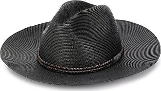 Brunello Cucinelli rope-trimmed fedora hat - Brown