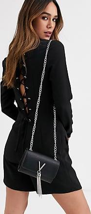 Unique21 Unqiue21 - Tuta corta stile blazer sartoriale con pizzo sul retro-Nero