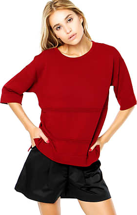 Finery Blusa Finery London Benmore Knitted Vermelha