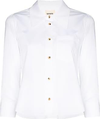 Khaite Camisa Kaylie com botões - Branco