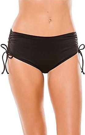 7eead3db8b8 Beach House Womens Hayden High Waisted Bikini Swimsuit Bottom with  Adjustable Side Ties, Black,