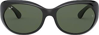 Ray-Ban Unisex Adults RB4325-601/71 Sunglasses, Black, 59.0