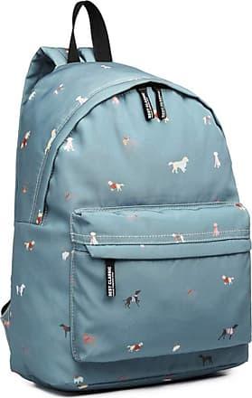 Craze London New KIDS Childrens Designer Style Canvas UNICORN Print Backpack Bag JC Kids Back to School Collection (Blue)