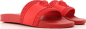 Versace Flip Flops for Men On Sale, Red, polyurethane, 2017, 10 10.5 6.5 8 9 9.5
