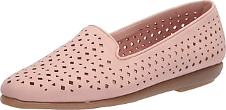 Aerosoles Womens You Betcha Casual, Flat, Loafer Size: 10.5 Wide Light Pink