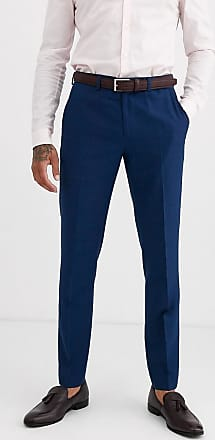 Burton Menswear slim suit trousers in blue
