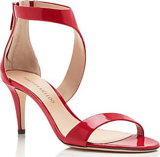 Tamara Mellon Prowess Sunset Patent Sandals, Size - 36.5