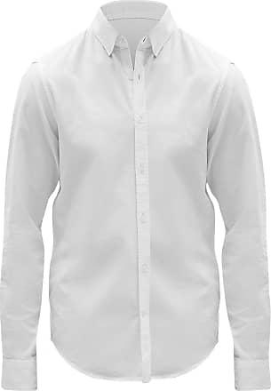 GAP Camisa GAP Reta Bolso Branca
