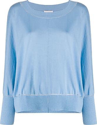 Snobby Sheep Suéter com acabamento contrastante - Azul