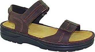 952c8a20bb654 Naot Mens Balkan Flat Sandal Brown 47 EU 14 M US