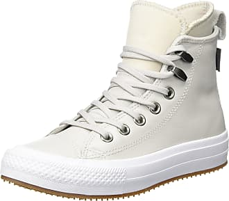 13e5fd04528 Converse Womenss Chuck Taylor All Star Wp Boot Hi-Top Trainers Grey Pale  Putty