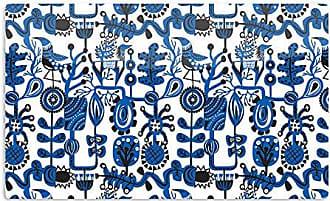 KESS InHouse Agnes SchugardtDream Blue White Artistic Aluminum Magnet, 2 by 3, Multicolor