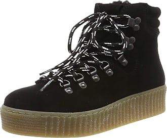 Pieces Womens Pshalima Suede Boot Low-Top Sneakers, Black Black Black, 7 UK