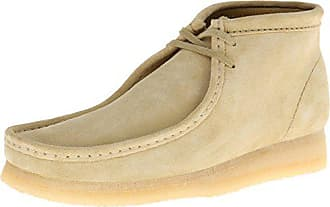 Clarks Mens Wallabee Leather Boot, Maple Suede, 13 M US