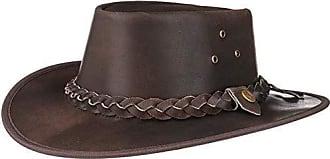 Scippis Hut Rindsleder XL 60//61 Lederhut Westernhut Cowboyhut Frisco braun Gr