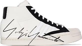 Yohji Yamamoto Superstar high-top sneakers - White