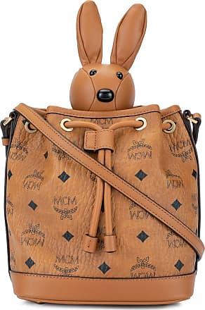MCM Bolsa saco Rabbit - Marrom