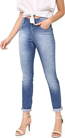 Morena Rosa Calça Jeans Morena Rosa Skinny Andrea Azul