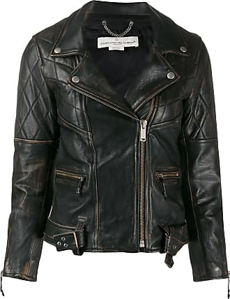 Yayu Womens Slim Faux Leather Short Jacket Long Sleeves Biker Jackets