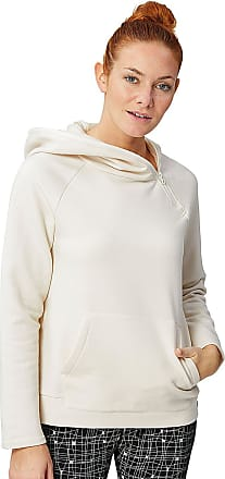 00395aca3c15 super.natural Super.natural Motion Shoulder Zip - Kapuzenpullover für Damen  - Beige