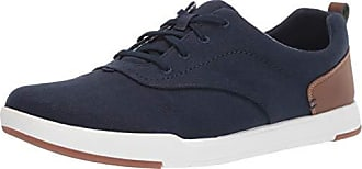 Clarks Mens CloudSteppers Step Isle Crew Shoe, Navy Canvas, 9 M US