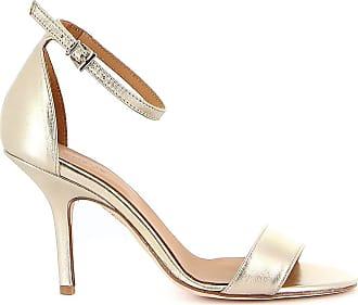 Dondup Fashion Woman WS179Y00708DXXXDD956 Gold Leather Sandals | Spring Summer 20