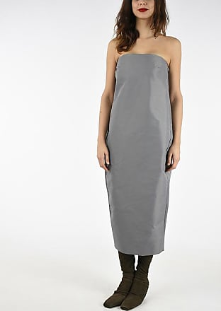 Rick Owens Nylon and Cotton SHORT PISTIL STRAPLESS Dress size 46