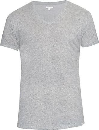 Orlebar Brown Ob-v Cotton-jersey T-shirt - Mens - Grey