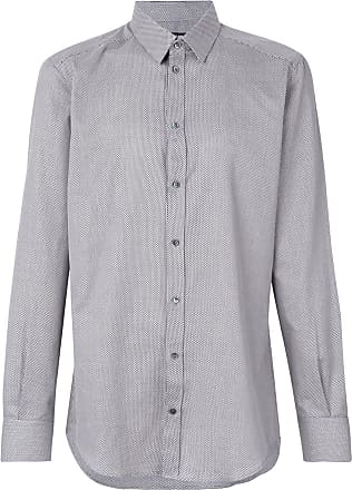 Dolce & Gabbana Camisa com estampa geométrica - Branco