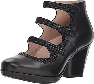 Dansko Womens Marlene Ankle Boot, Black Burnished Calf, 42 M EU (11.5-12 US)
