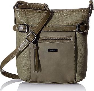 Tom Tailor Acc Juna Flash, Womens Cross-Body Bag, Green (Khaki), 26x24x7.5 cm (W x H L)