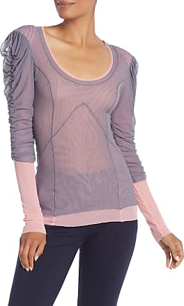 Petit Pois by Viviana G Layered Mesh Lace-Up Top