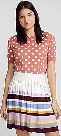 Twik Pleated knit skirt