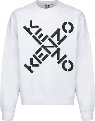 kenzo genser herre hvit