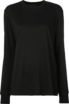 Wardrobe.NYC Camiseta mangas longas - Preto