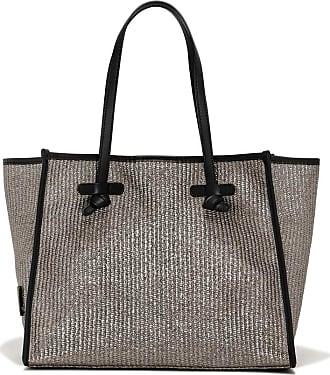 Gianni Chiarini marcella medium silver tone shoulder bag
