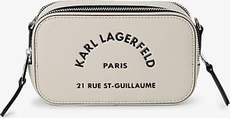 Karl Lagerfeld Damen Umhängetasche beige