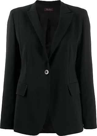 Max Mara crepe blazer - Preto