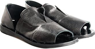 Salvador Ribes sandalo flat, 36 / nero