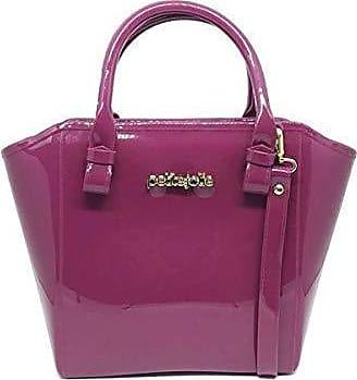 Petite Jolie PJ3939 Bolsa Shopper Shape Bag Express Petite Jolie antiga PJ1770 (Bordô)