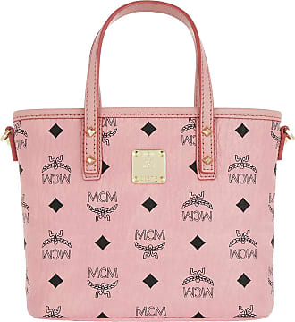 6a893a5734b72 MCM Anya Top Zip Shopper Mini Soft Pink Umhängetasche rosa