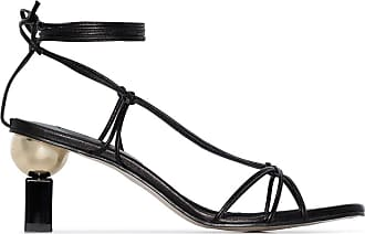 Yuul Yie Trophy 70 barely there sandals - Black