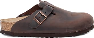 Birkenstock Mule Boston Oiled Habana - Marrom