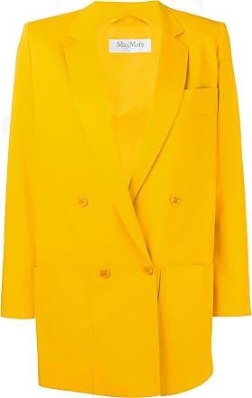 Max Mara Blazer com abotoamento duplo - Amarelo