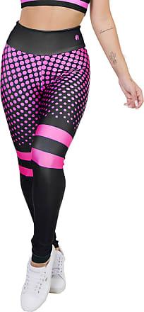 Kaisan Calça Legging Kaisan Sublimada Neon Pink