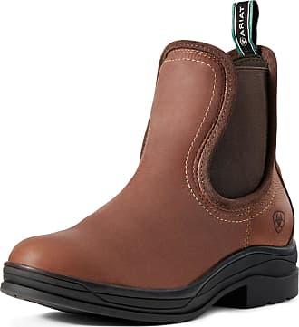 Ariat Womens Keswick Waterproof Boots in Brick Leather, B Medium Width, Size 3.5, by Ariat