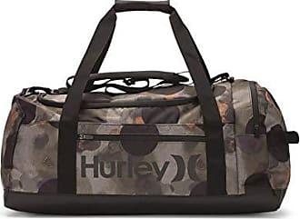 Hurley Mens Renegade Camo Print Duffle Bag, Faded Olive, QTY